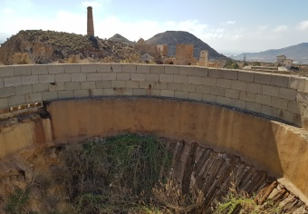 Gran agujero de la mina de Mazarrón