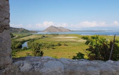Lago Skadar desde el Castillo de Besac
