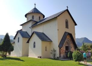 Iglesia grande (de la Asunción de María) del monasterio de Morača