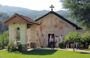 Iglesia pequeña (de San Nicolás) del monasterio de Morača