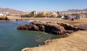 Playa del Castellar desde el Cabezo del Gavilán