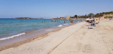 Playa de Isla Plana
