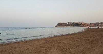 Playa del Puerto de Mazarrón