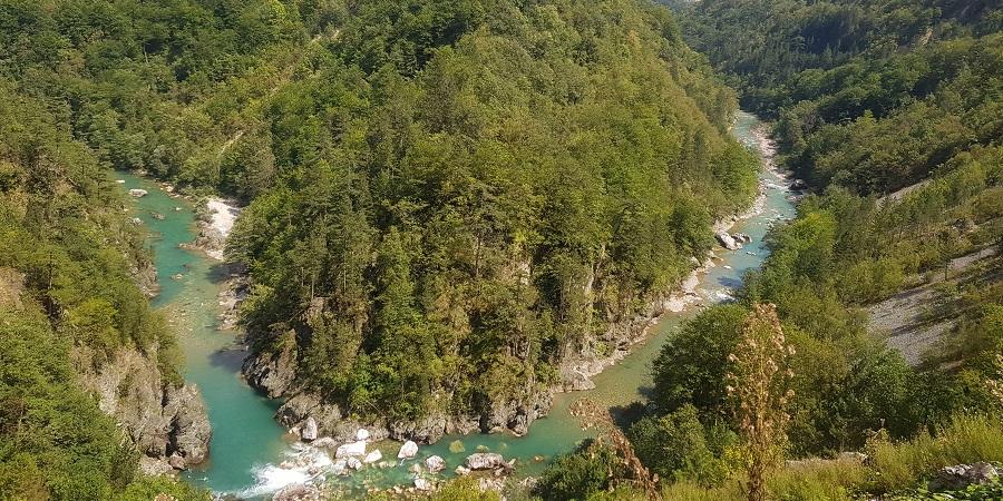 El cañón del río Tara, la garganta más profunda de Europa, está en Montenegro