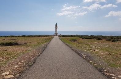 Último tramo al Faro de Barbaria