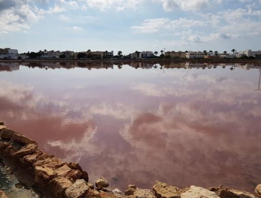 Zona del estanque de Pudent y las salinas