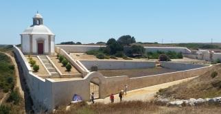 Casa del Agua del complejo de Nossa Senhora do Cabo