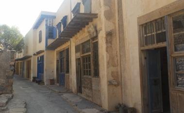 Edificios de la colonia de leprosos de Spinalonga