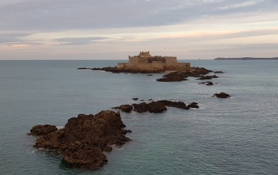 Fort National con marea alta