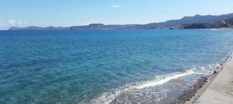 Península de Kyriamadi desde Creta