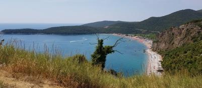 Playa de Jaz desde la carretera