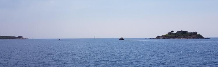 Salida montenegrina de las bocas de Kotor