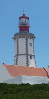 Detalle de la linterna del Faro Espichel