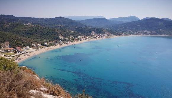 Agios Georgios Pagon desde Afionas