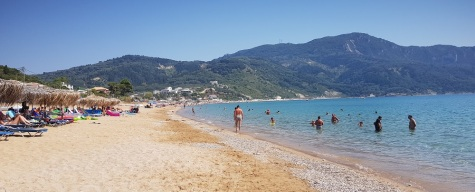 Playa de Agios Georgios Pagon