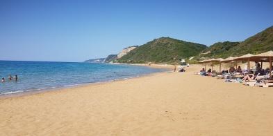 Playa de Agios Gordios del sur
