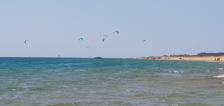Deportes marítimos en Halikounas