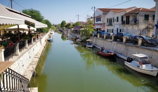 El canal de Lefkimmi
