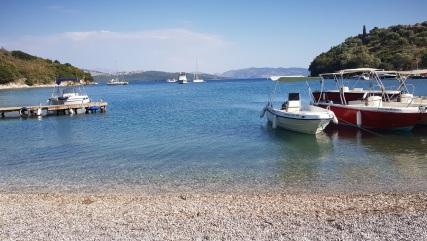 Albania desde Agios Stefanos