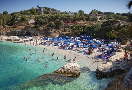 Playa de Bataria, Kassiopi
