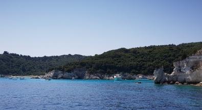 Playa Voutoumi, Antípaxos, Islas Jónicas, Grecia