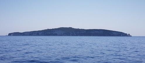 Silueta de Antípaxos, Islas Jónicas