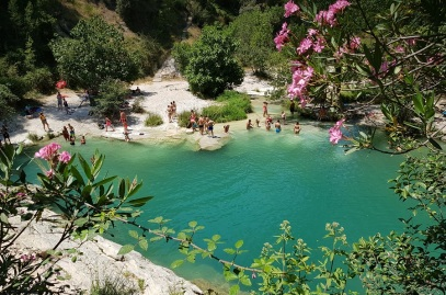 Pou de la Reixa, las mejores aguas turquesa de Pou Clar