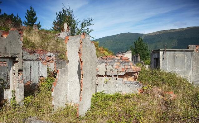 Ruinas del poblado de A Paicega, Pesoz