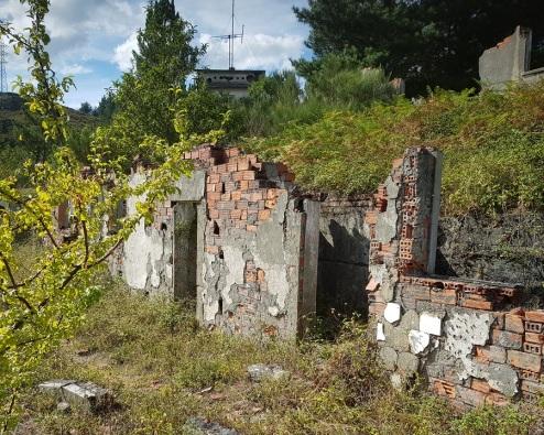 Restos de edificios de A Paicega, Pesoz