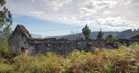 Edificio en ruinas de A Paicega