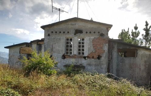 Restos del poblado obrero de A Paicega, Pesoz