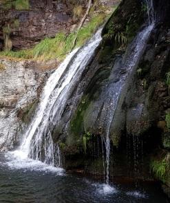 Caída de la cascada de Morlongo, Villanueva de Oscos, Asturias