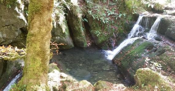 Salto de agua del río Infierno, Piloña