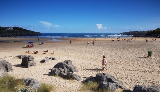Playa de Cuberris, Ajo, Cantabria