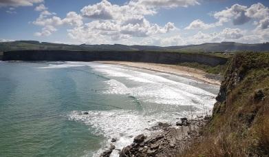 Playa grande de Langre