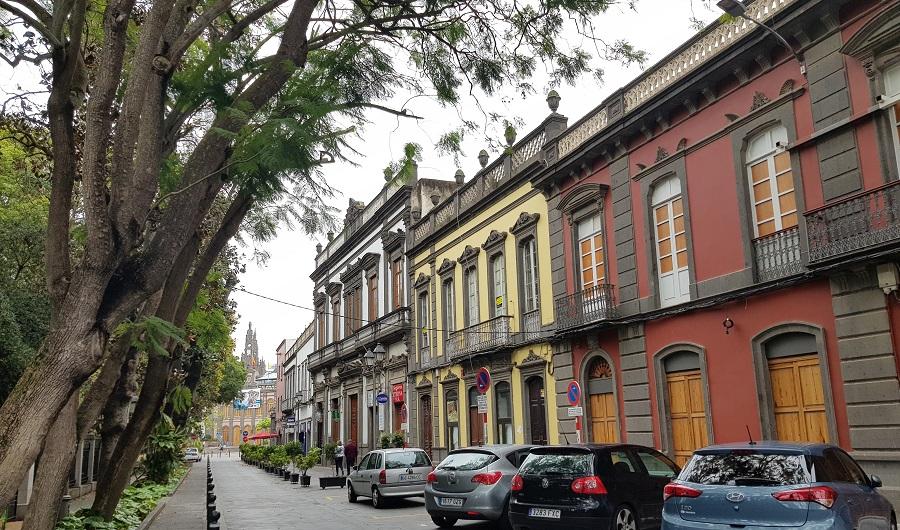 Calles coloridas de Arucas, Gran Canaria