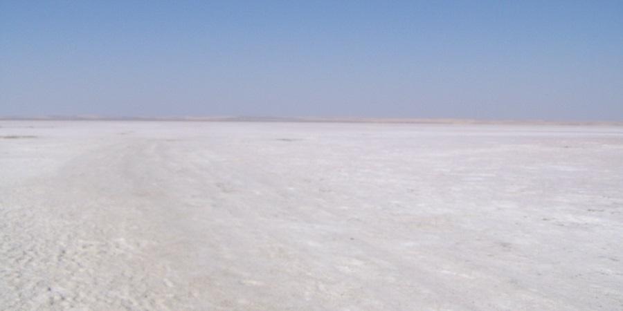 Tuz Gölü, el lago de Sal o lago Salado de Turquía